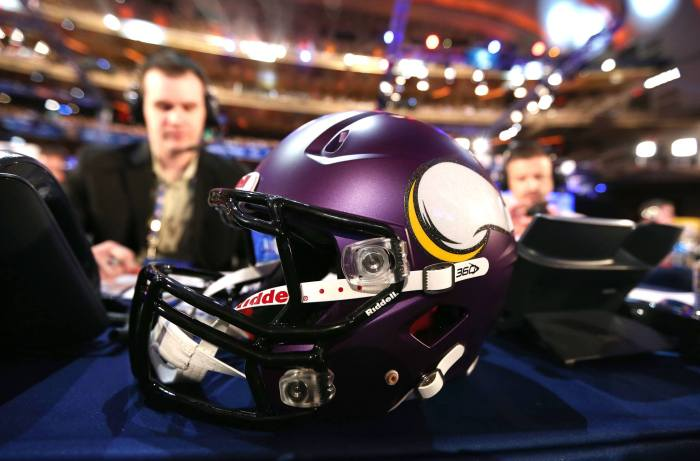 Vikings Helmet Draft