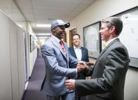 Spielman meeting Teddy