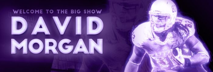 Welcome To The Big Show - David Morgan