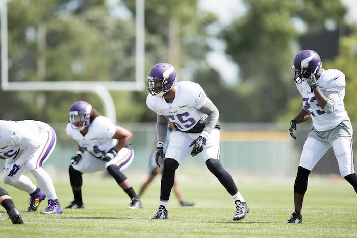 Mike Zimmer's Vikings practice against former Bengals team