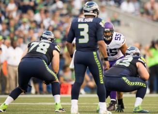 Vikings Pass Rush Silences Seahawks