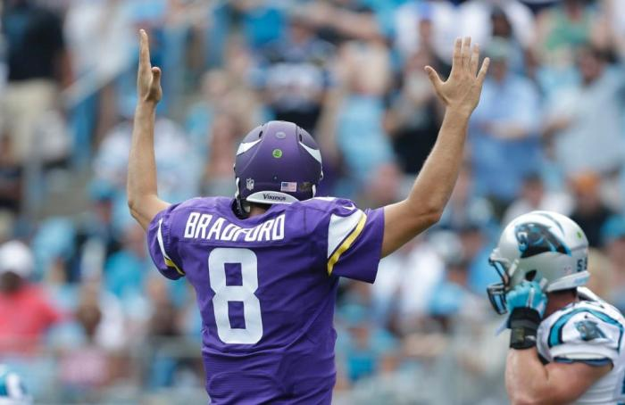 Vikings Offense Shines, if Only for One Drive
