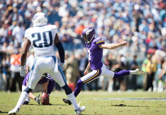 Gauging Confidence in Vikings K Blair Walsh