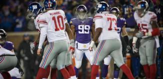 Vikings versus Giants