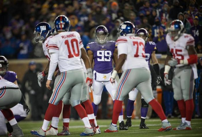 Vikings versus Giants