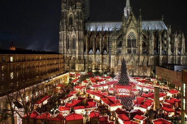 Karácsonyi vásár Köln