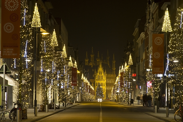 Karácsonyi vásár Leuven