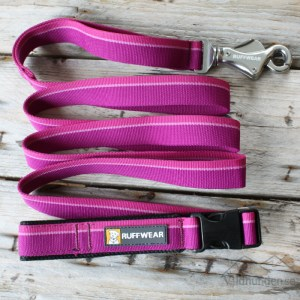 Ruffwear Flat Out Leash Purple Dusk
