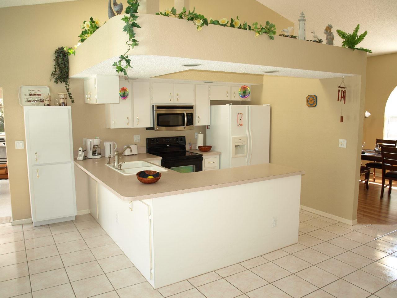 Side By Side Kühlschrank In Küche Integrieren : Offene küche mit side by side kühlschrank küche mit kochinsel und