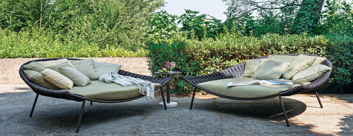 Daybed Outdoor Ch Arena Lounge Daybed | Roda Online | Villa Schmidt