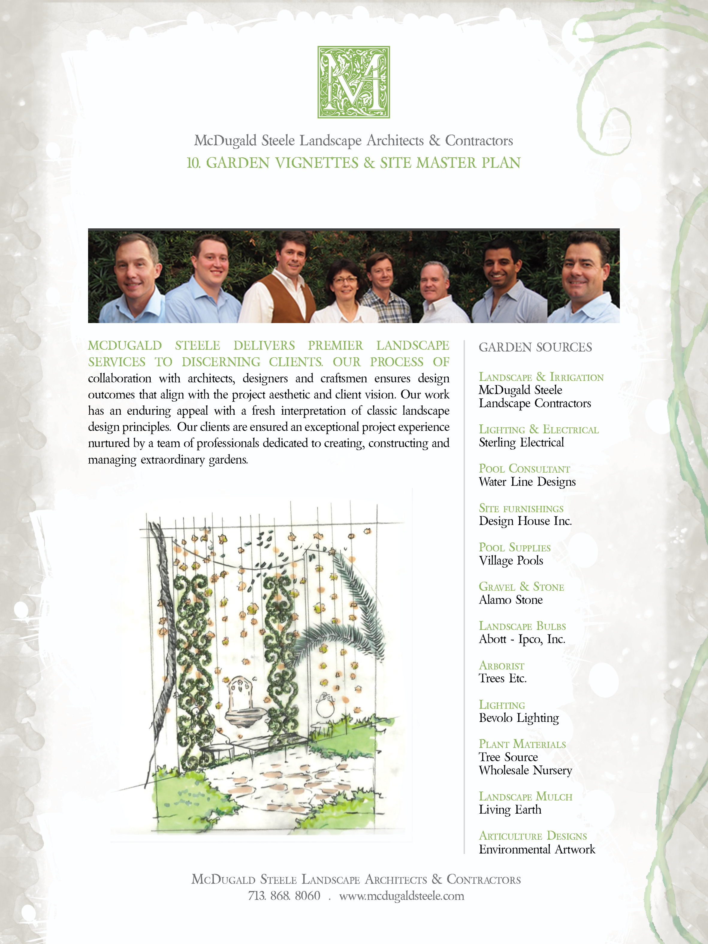 Landscape Architect Houston Landscape Architect Mcdugald Steele Presented By Luxe Interiors