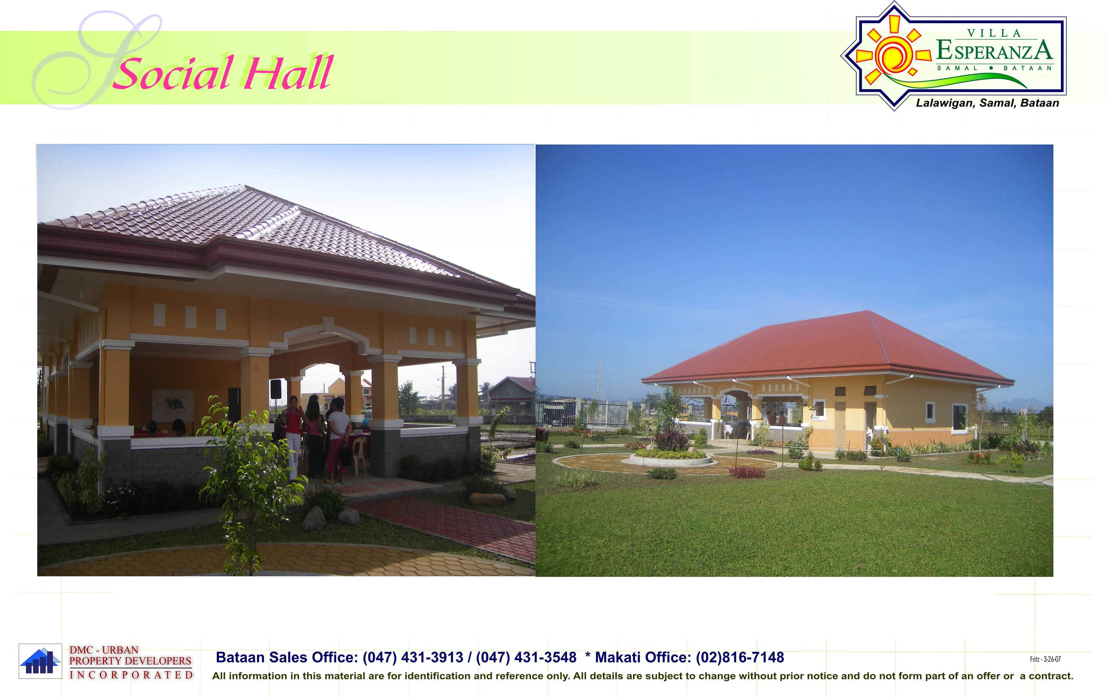 Villa Esperanza Villa Esperanza Samal Bataan The Sprit Of Urban Living Is Now At