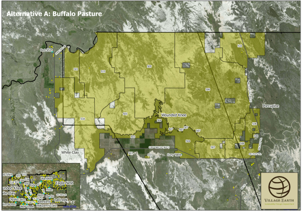 Proposed OST Buffalo Pasture