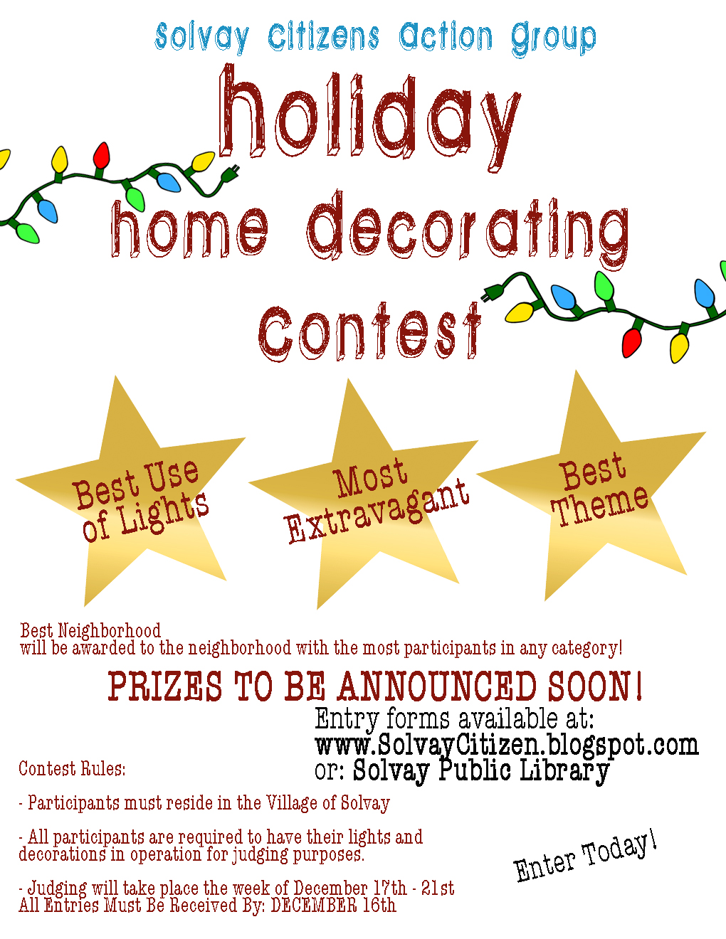 Gallery for gt christmas cubicle decorating contest flyer