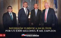VIDEO: Karisma Hotels anuncia inversión turística en el Este por US$300 millones. 8 mil nuevos empleos