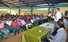 Gobierno inicia titulación definitiva en 5 asentamientos agrarios y en más de 23 comunidades de Villa Altagracia.
