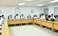 Representante del BID visitan Punta Catalina