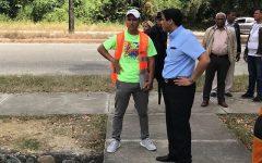 Director Parque Mirador Norte encabeza jornada de limpieza Avenida Ecológica
