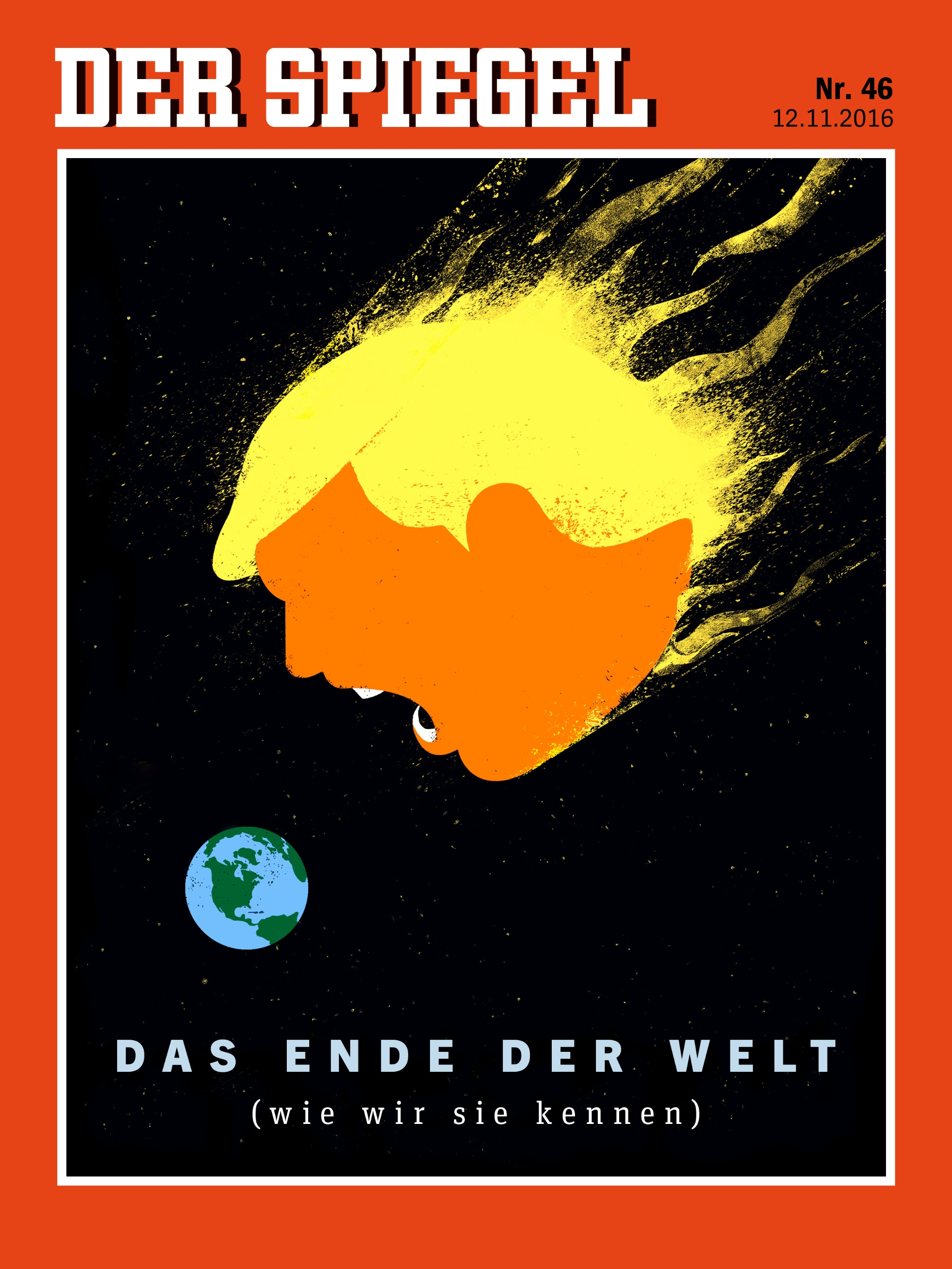 Badspiegel Jolled Donald Trump Makes Covers Great Again Villamedia