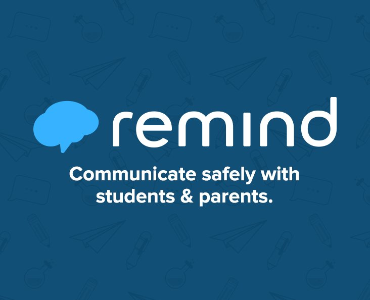 Remind Website & App (Class Code = @villaparkm)