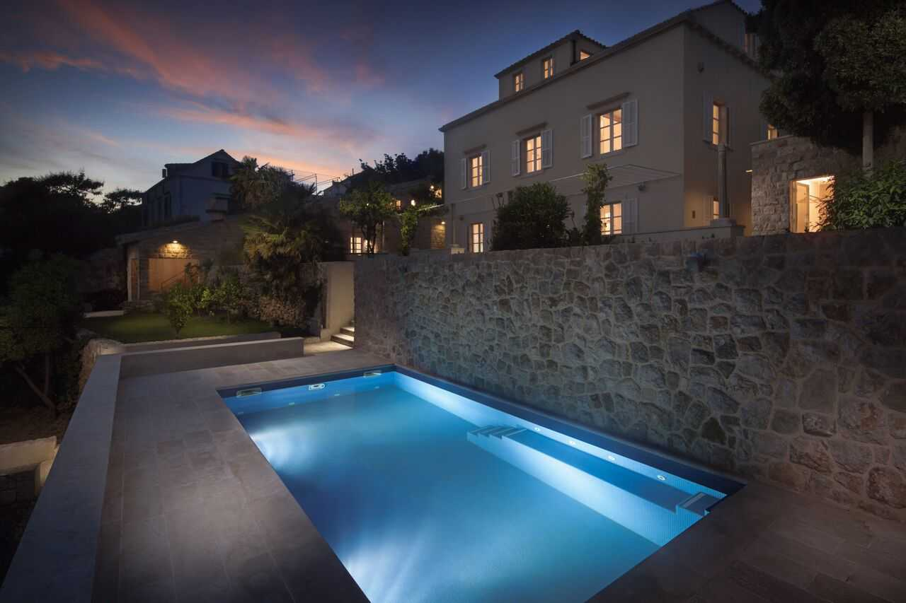 Luxus Outdoor Pool Luxury Villa Dubrovnik Old Town With Pool Sea View