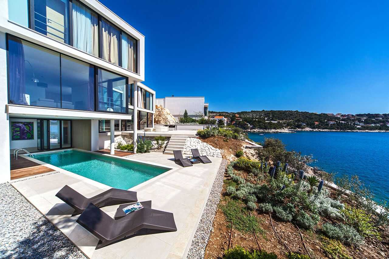 Luxury Holiday Villa With Pool Exclusive Spa Beach Holiday Villa With Private Pool Villas Croatia