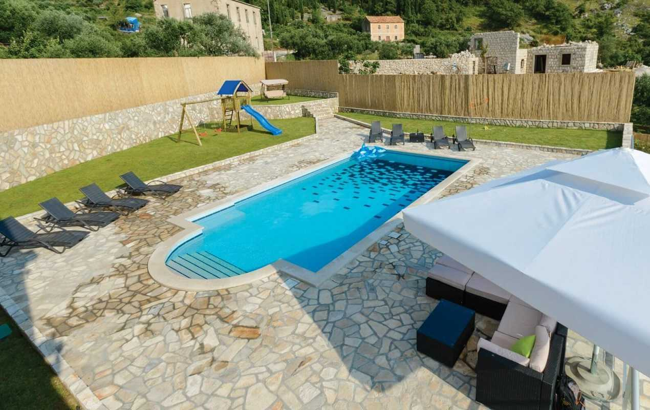 Jacuzzi Pool Villa Bandos Private Villa Near Dubrovnik With Pool Garden Jacuzzi