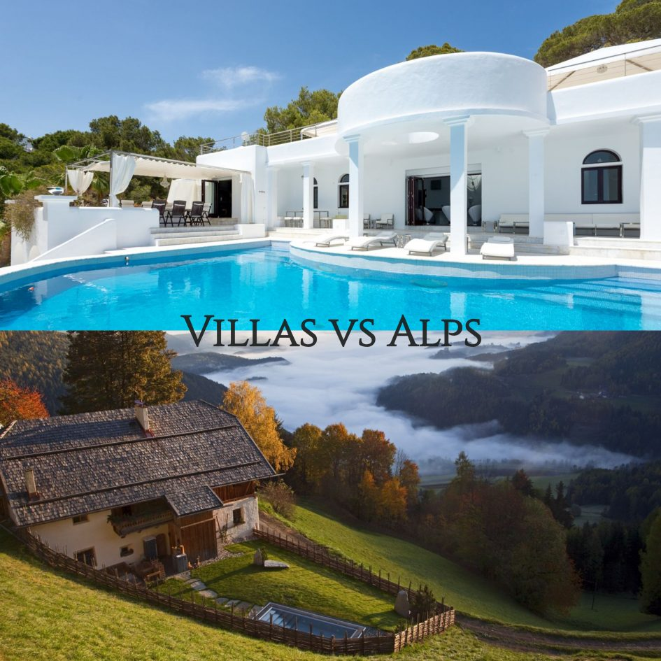 Holidays Villas Where To Go For Your Summer Holiday Villa Or Alpine Holiday