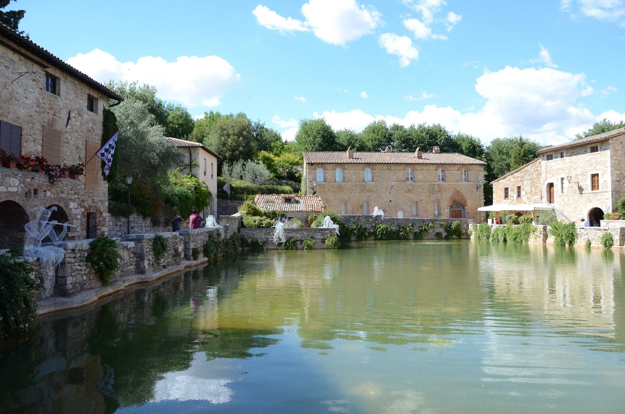 Bagno Vignoni Free Thermal Baths Thermal Spas Close To Paciano Villa Tartagli Bassi Holidays In