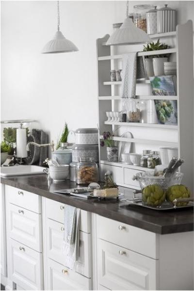 Vintage Gardinen Küche