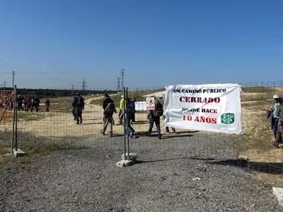 Ecologistas Villaviciosa piden la reapertura de la vereda de Brunete