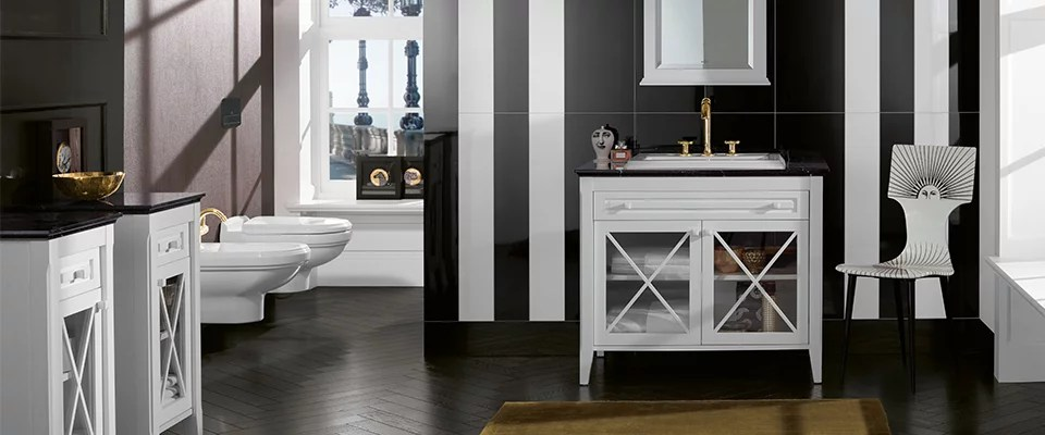 Homage Bath Collection With Contour Reliefs Villeroy - Villeroy Und Boch Bad Dwg