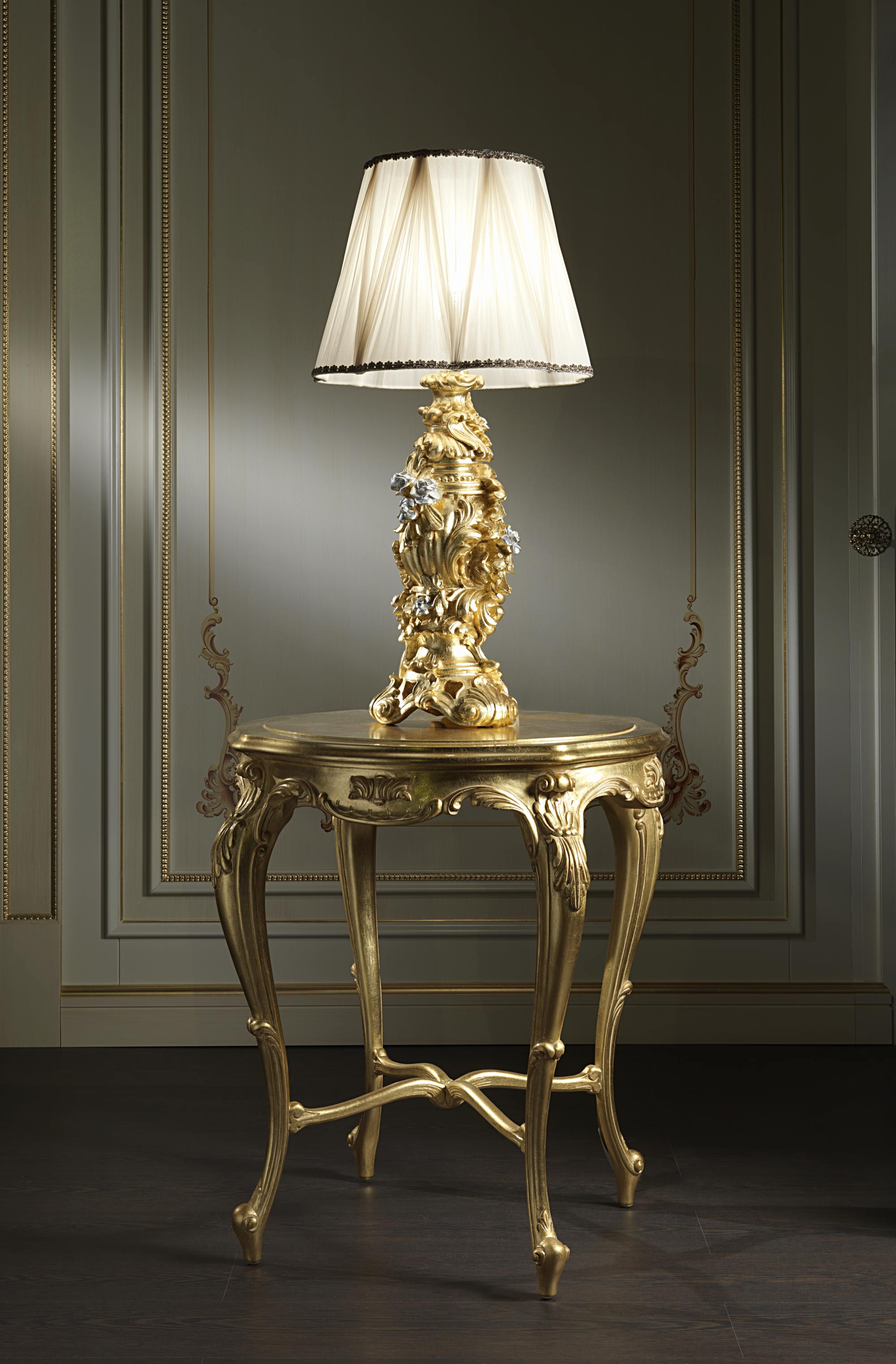 Luxury Table Lamps Baroque Classic Table Lamps Vimercati Classic Furniture