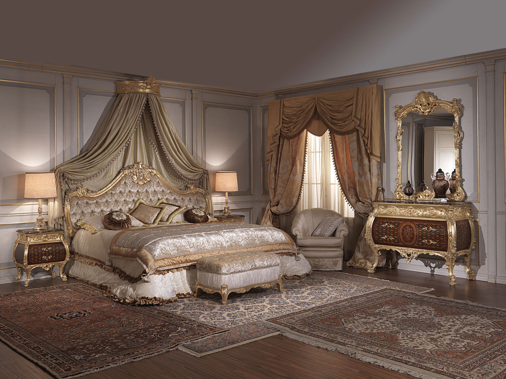 Meuble Louis 15 Classic Italian Bedroom 18th Century And Louis Xv