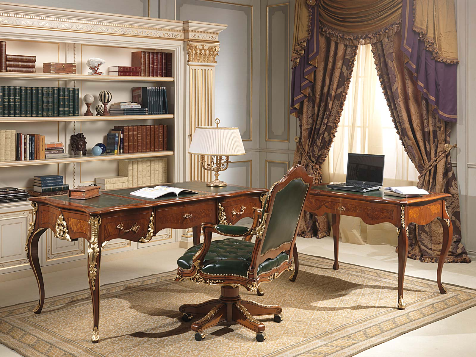 Classic Home Offices Office Louis Xv Style Vimercati Classic Furniture