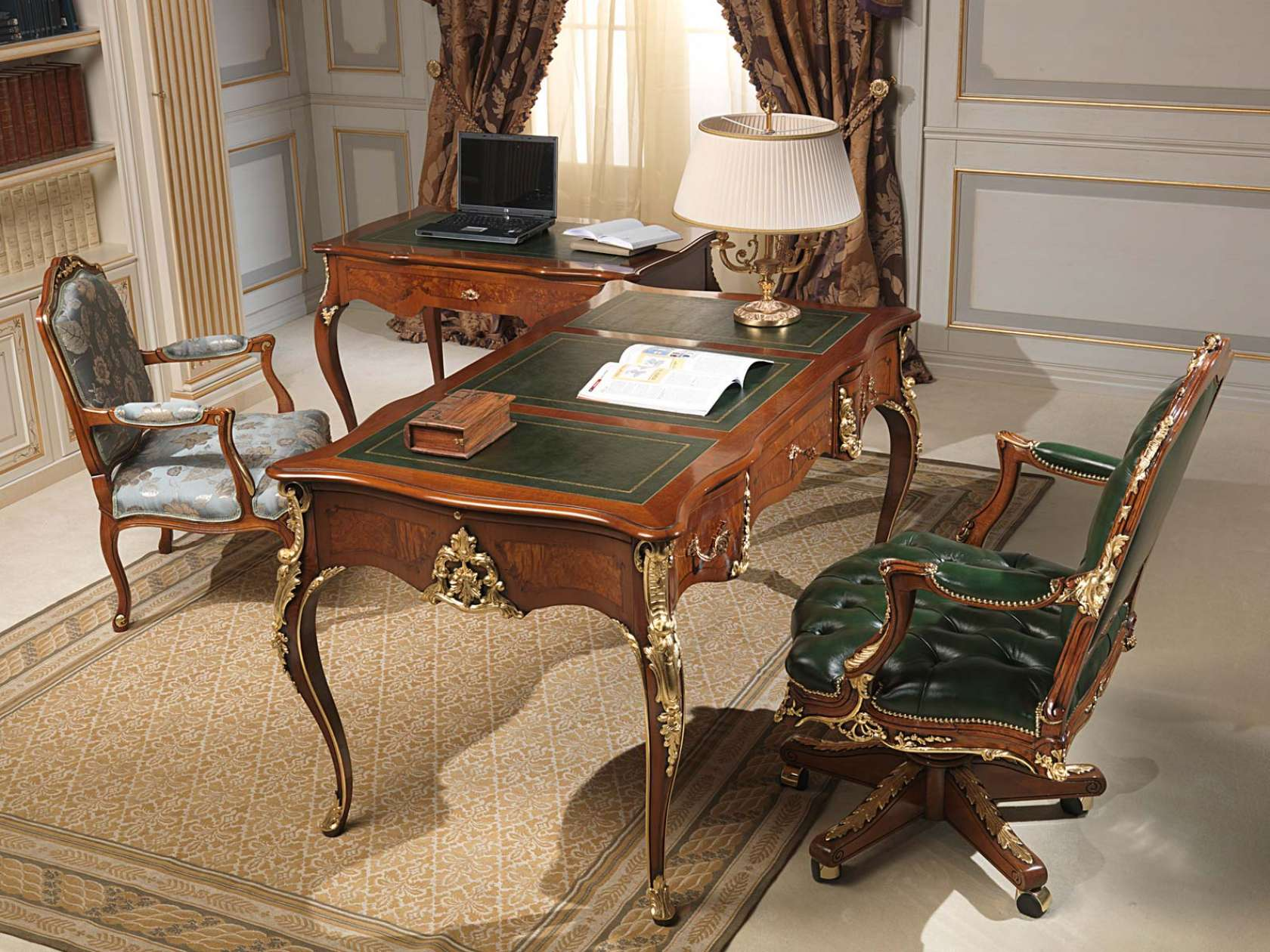 Classic Table Office Classic Office Louis Xv Style Vimercati Classic Furniture
