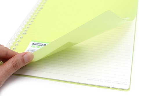 Kokuyo Campus Notebook Smart Ring Binder B5 26 Rings Yellow Green - notebook binder