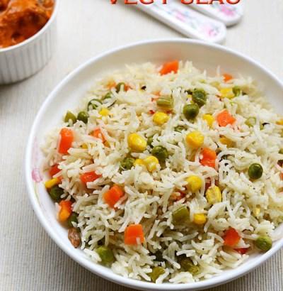 easy vegetable pulav recipe, vegetable pulv kerala style