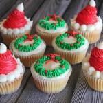 Santa Cupcakes
