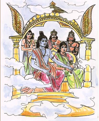Ravan 3d Wallpaper How Did Lord Rama Return To Ayodhya After Killing Ravan