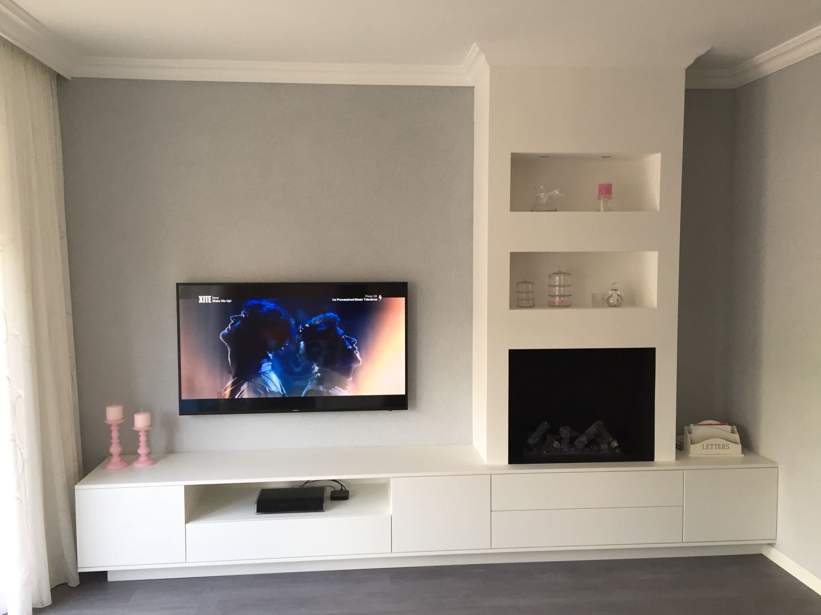 Sfeerhaard Tv Meubel : Elektrische haard tv kombifire haarden van jan des bouvrie nieuws
