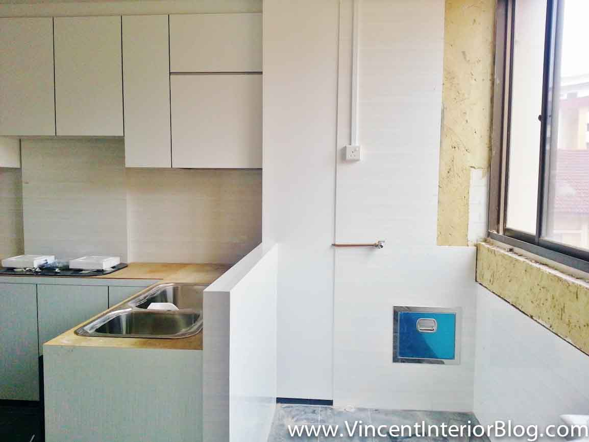 Hdb Kitchen Design Photos Resale 3 Room Hdb Renovation Kitchen And Toilet By Plus
