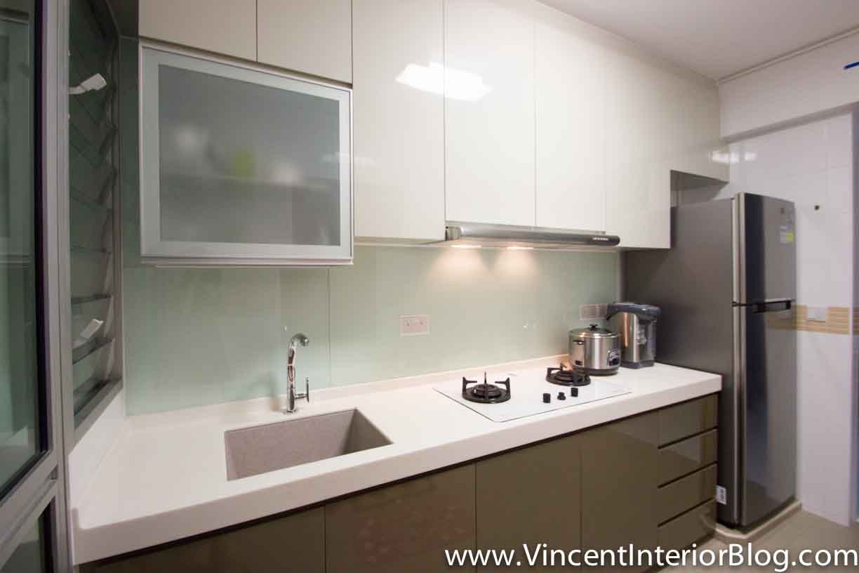 Hdb Kitchen Design Photos Bto 3 Room Hdb Renovation By Interior Designer Ben Ng