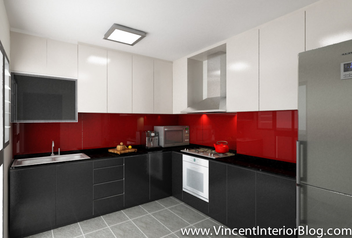 Hdb Kitchen Design Photos Hdb 4 Room Archives Vincent Interior Blog Vincent