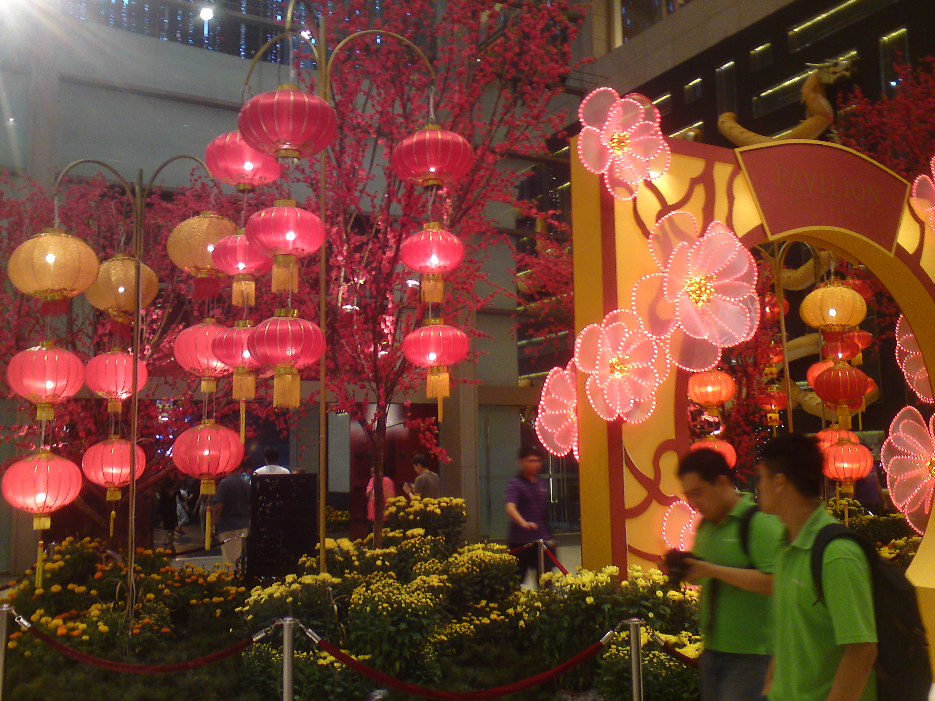 Chinese Dragon Decor Awesome Chinese New Year 2012 Decoration At Pavilion Kl