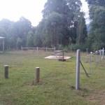 Horse campsite