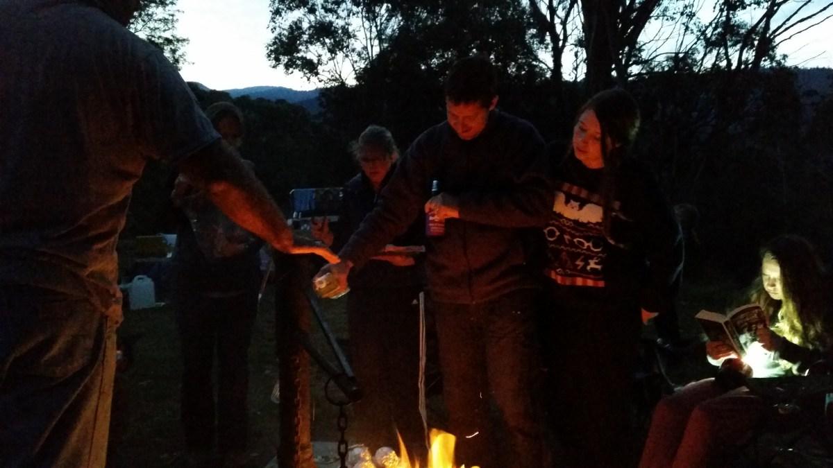 Bonfire and good company