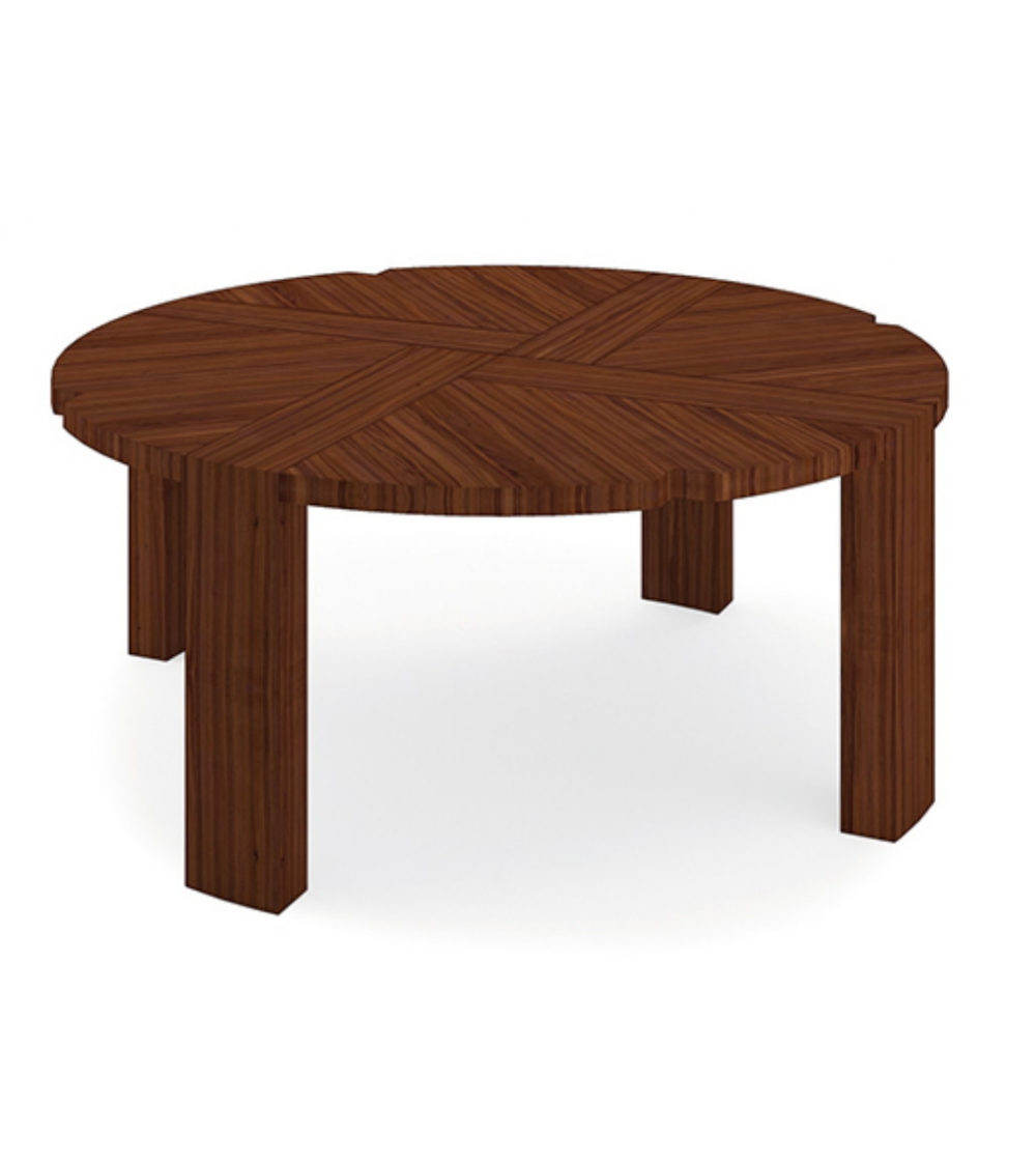 Couchtisch Darkwood Round Table Ottiko 20 Designvivi