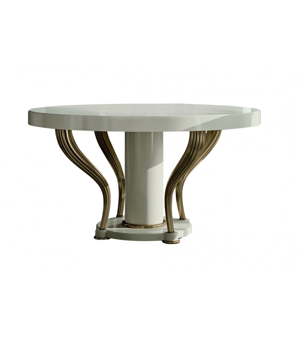 Valdera Sessel Opale Round Table Aura Collection Valderamobili