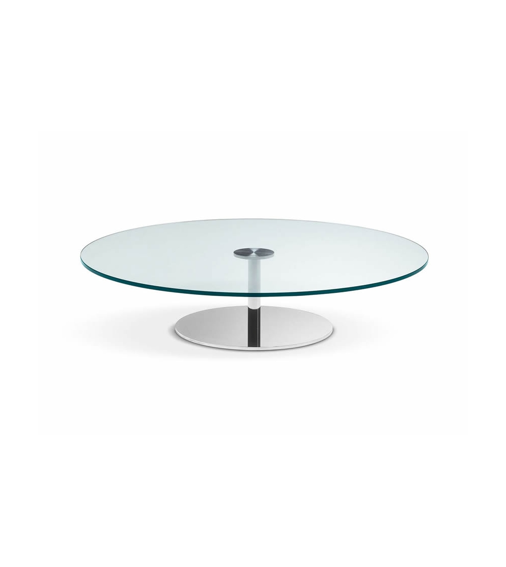 Table Basse Ronde En Verre Design Table Basse Ronde Tonelli Design